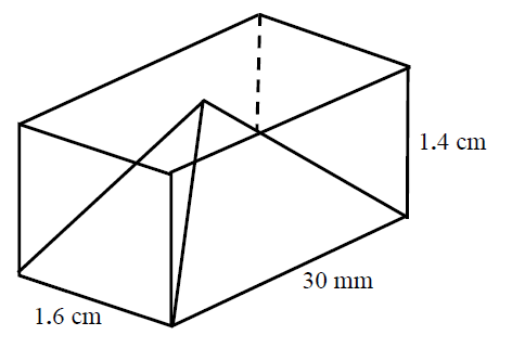 Surface area and volume of pyramids and rectangular prisms