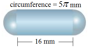 Surface area and volume of half spheres