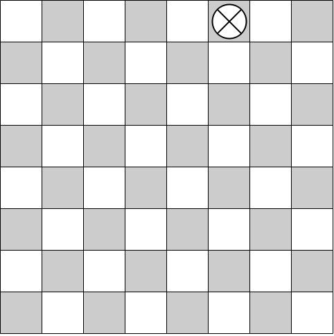 checkerboard path counting questions