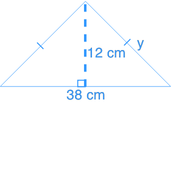 Using the pythagorean relationship to calculate hypotenuse