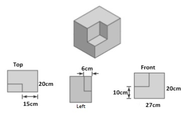 Surface area of 3-dimensional shapes