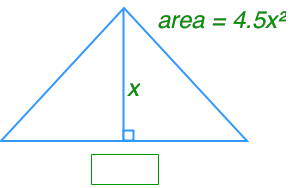 find the missing length of a triangle by multiplying and dividing polynomials