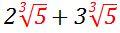2-cubic-5-plus-3-cubic-5