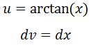 Antiderivative of arctan pt. 3