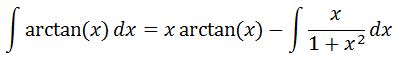 Antiderivative of arctan pt. 5