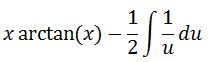 Antiderivative of arctan pt. 7