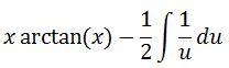 Antiderivative of arctan pt. 7