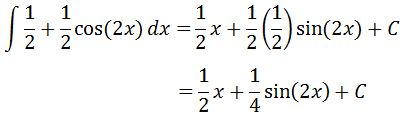 Antiderivative of cos^2 pt. 5