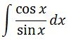 Antiderivative of cotx pt. 2
