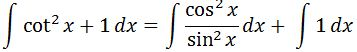 Antiderivative of csc^2 pt. 3