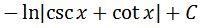 Antiderivative of cscx pt. 6