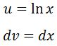 Antiderivative of lnx pt. 3