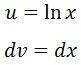 Antiderivative of lnx pt. 3