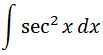 Antiderivative of sec^2 pt. 1