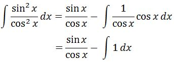 Antiderivative of sec^2 pt. 6
