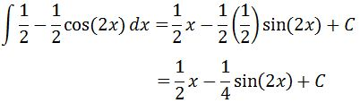 Antiderivative of sin^2 pt. 5