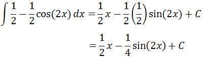 Antiderivative of sin^2 pt. 5