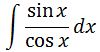 Antiderivative of tanx pt. 2