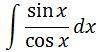 Antiderivative of tanx pt. 2
