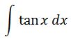 Antiderivative of tanx pt. 1