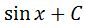 Backtrack Antiderivative of cos pt. 3