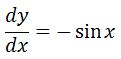 Backtrack Antiderivative of sin pt. 2