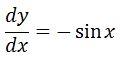 Backtrack Antiderivative of sin pt. 2