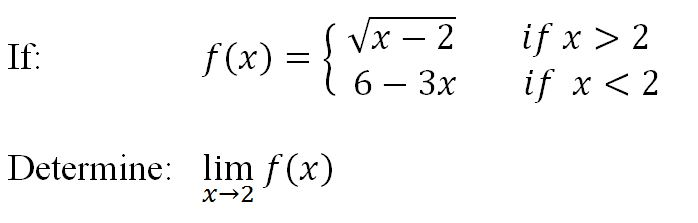 Finding limits algebraically using direct substitution