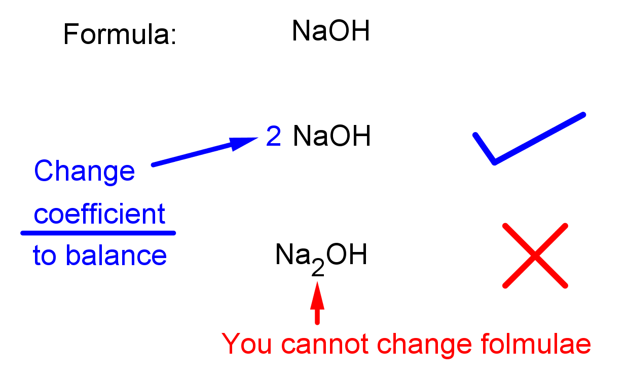 how to balance an equation? part 2