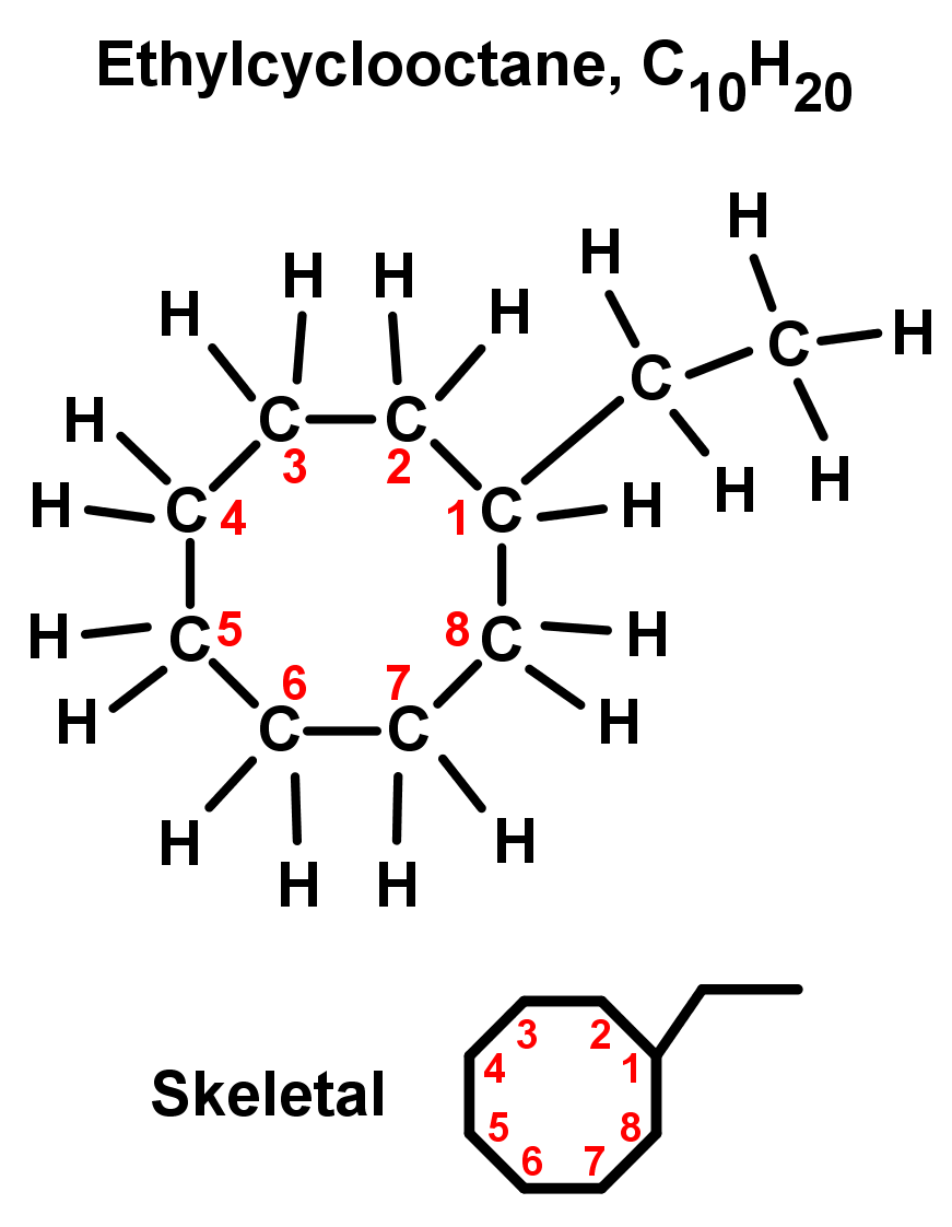 Ethylcyclooctane, C10H20