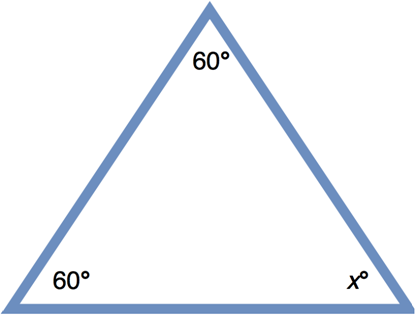 Finding the missing angle, and then classifying the triangle