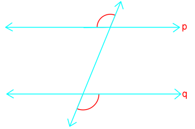 Prove parallel lines by alternate exterior angles converse
