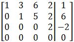 what is General Solution of a Matrix