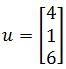 Calculating vectors in R^n, vector 1