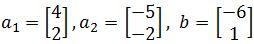linear combination