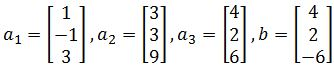 linear combination and vectors
