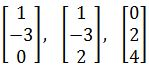 is this vector linearly independent
