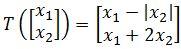 prove linear transformation