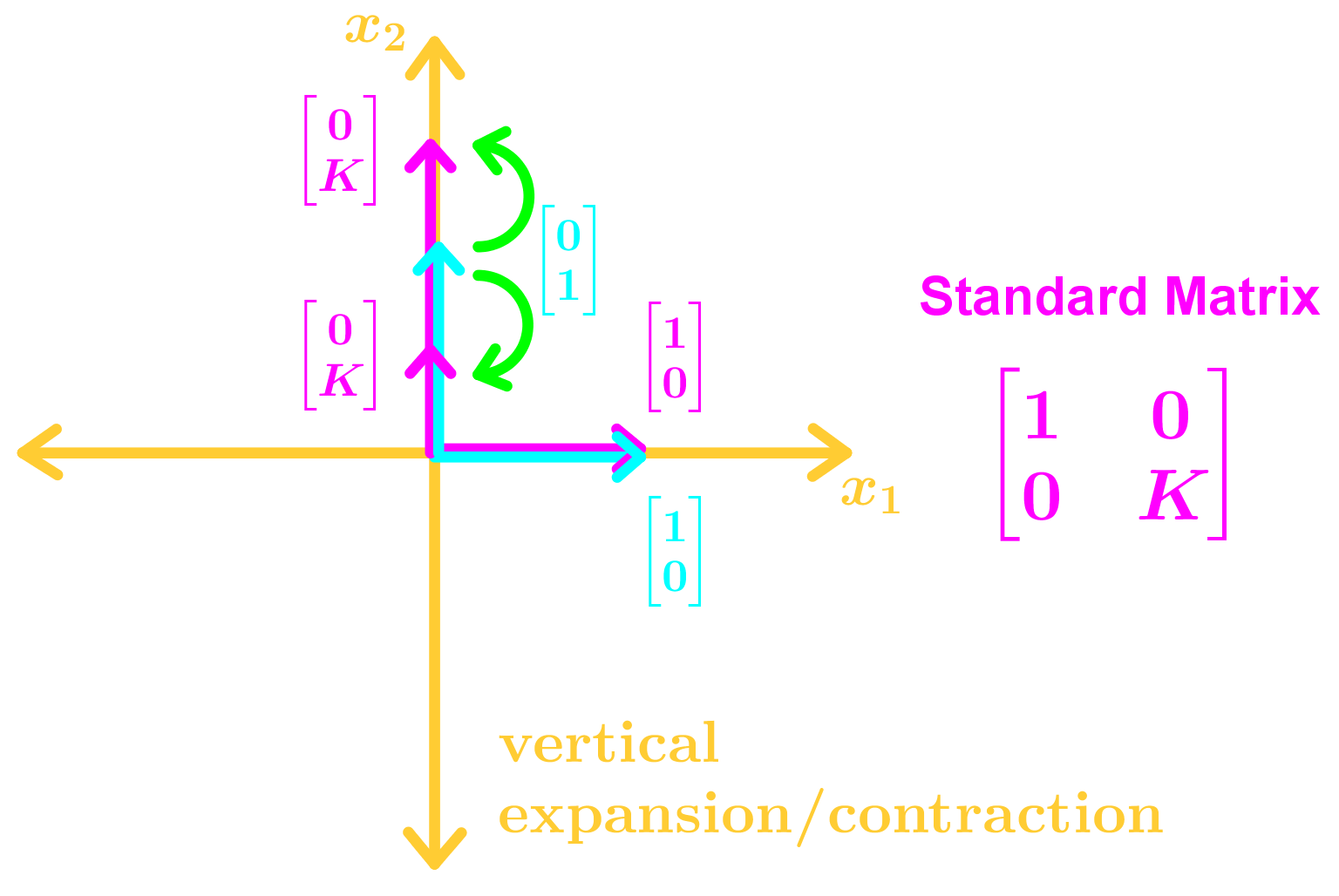 vertical expansion/contraction