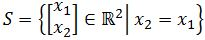 Is this set a subspace of R^2