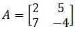 Find the characteristic polynomial