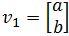 corresponding eigenvector v_1