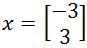 express it as a linear combination of the set of vectors in B
