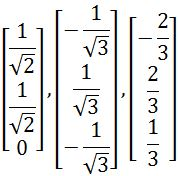 Is set B is an orthonormal basis for R^3?