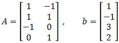 Finding the Least Squares Solutions with Alternative Ways