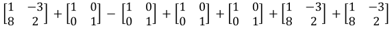 Multiplying a matrix by a scalar
