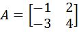 The Inverse of a 2 x 2 matrix