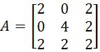 The inverse of 3 x 3 matrices with matrix row operations