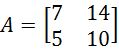 2 x 2 invertible matrix