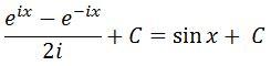 Moivre Antiderivative of cosx pt. 8